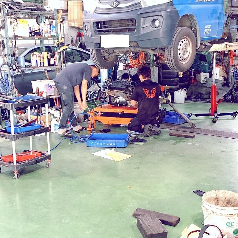 新北市樹林區推薦保養維修板金烤漆輪胎廠正華汽車