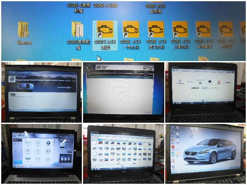 苗栗縣頭份市推薦修車廠保養廠輪胎行 六友汽車,備有BENZ、BMW、VW等專業檢測電腦