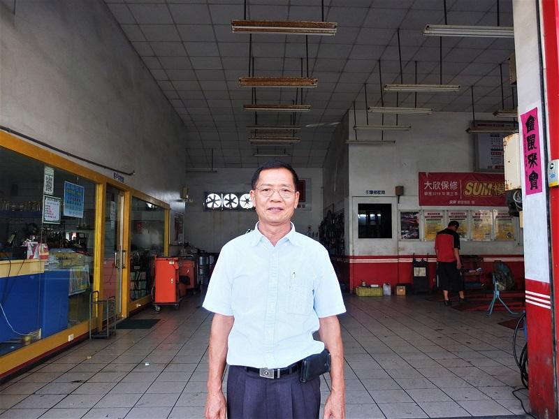 台中市清水區推薦修車廠保養廠輪胎行大欣汽車保修中心老闆