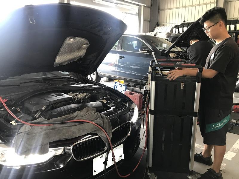 台中市西屯區推薦修車廠保養廠寶馬保修診斷