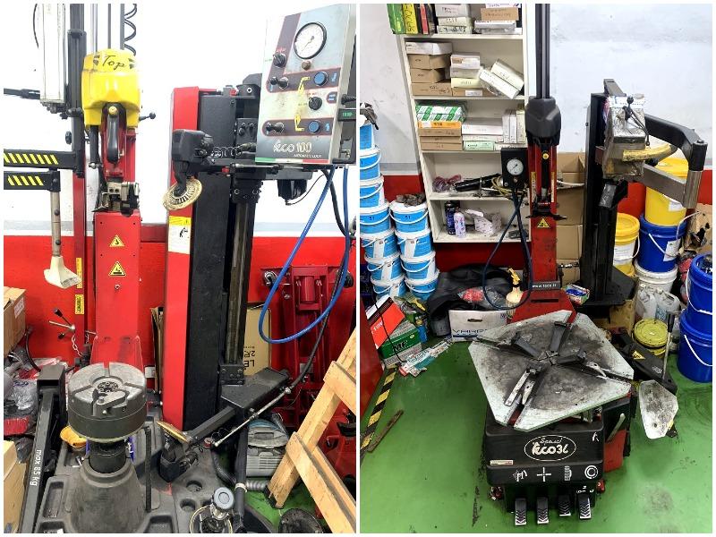 新北市板橋區推薦修車行保養廠輪胎行合將汽車保養廠輪胎拆胎機