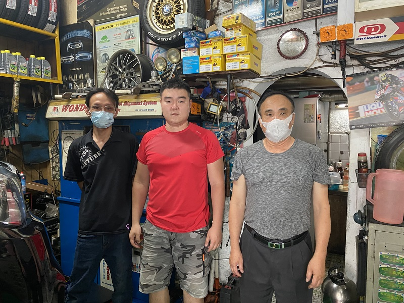 台北市中正區推薦修車廠保養廠輪胎行全勝輪胎